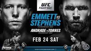 UFC fight night Fox 2-23