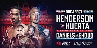Bellator Henderson vs Huerta