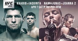UFC 223 fixed
